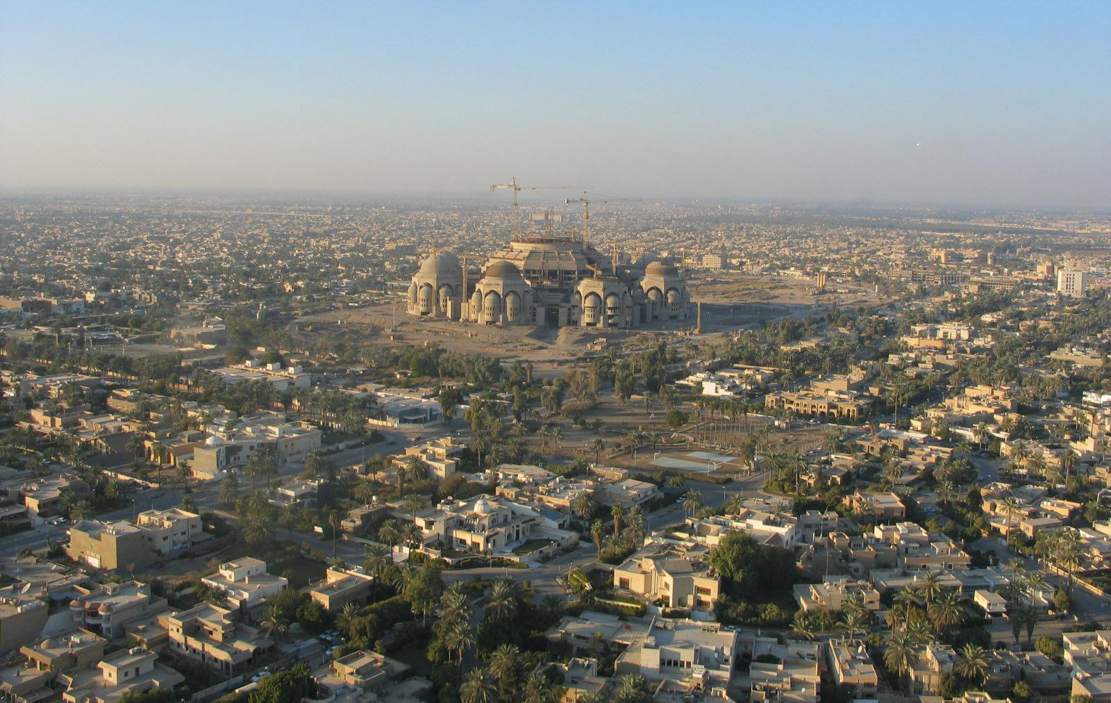 the city of baghdad Baghdad is the capital of iraq and the center of air, road, and rail transport in the  country as the leading manufacturing city of iraq, the city has.